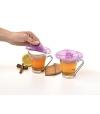 Tampa de Silicone para Bebidas (x2) Hibiscus - Charles Viancin