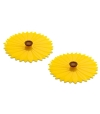 Tampa de Silicone para Bebidas (x2) Sunflower - Charles Viancin