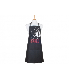 Avental Licensed to Grill - Ladelle