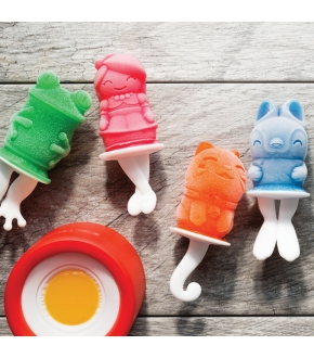 Molde para Gelados Personagens Pop - Zoku