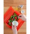 Kit Caixa para Cozinhar a Vapor c/ Bandeja + Herbstick – Lékué