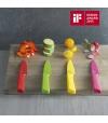 Faca para Pão de Aço Inoxidável Japonês Colori®+ - Kuhn Rikon