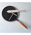 Frigideira para Crepes com Repartidor e Espátula 28 cm - Staub