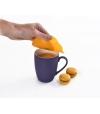 Tampa de Silicone para Bebidas (x2) Pumpkin - Charles Viancin