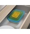 Conjunto de 4 Recipientes de Vidro Nest Glass - Joseph Joseph