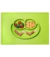 Tabuleiro e Prato de Silicone 2 em 1 Happy Mat - Ezpz