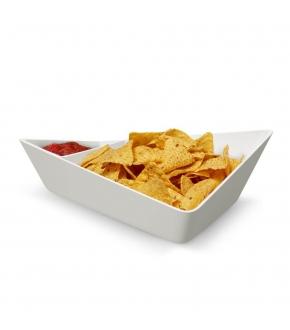 Taças para Entradas Chip + Dip Bowl - Black+Blum