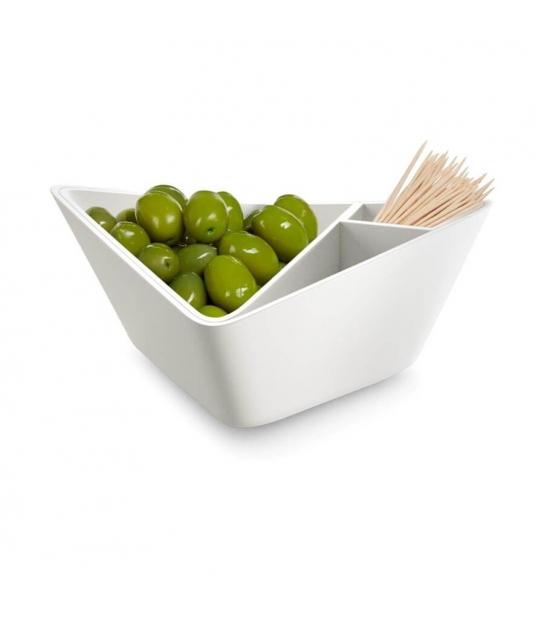 Taças para Aperitivos Nut + Olive Bowl - Black+Blum