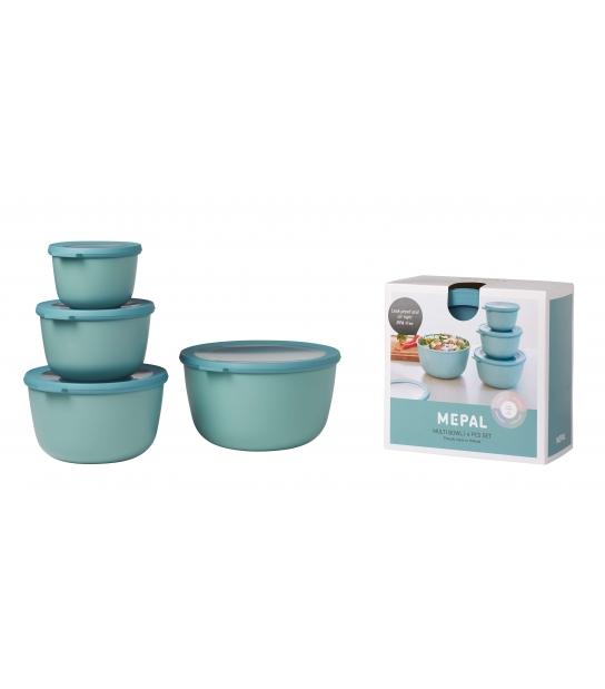 Conjunto de 4 Taças Herméticas Cirqula - Rosti Mepal