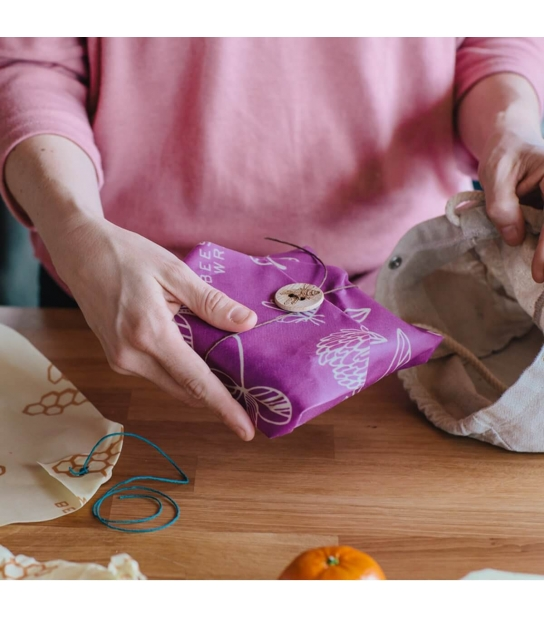 Bee's Wrap Individual para Sandwich Mimi's Purple