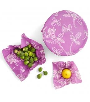 Conjunto 3 Tamanhos (S,M e L) Mimi's Purple - Bee's Wrap