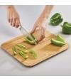 Tábua de Corte Chop2Pot Bamboo - Joseph Joseph