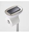 Suporte para Papel Higiénico de Aço Inoxidável e Piaçaba EasyStore Plus - Joseph Joseph