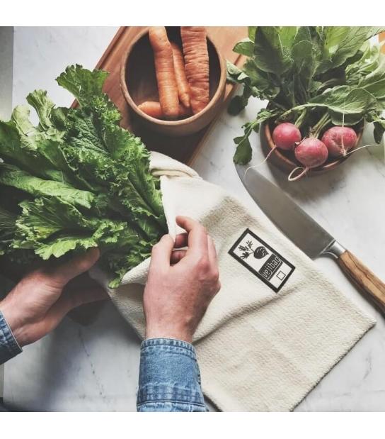 Saco Orgânico Longo para Legumes - Vejibag