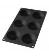 Molde de Silicone Semi-esferas 6 cavidades - Lékué