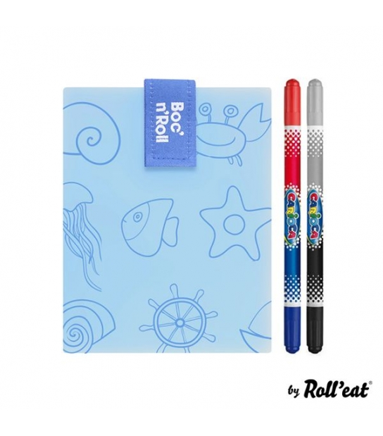 Bolsa para Sandes + 2 Marcadores Laváveis Boc n Roll Paint - Roll Eat