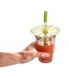 Tampa e Palhinha de Silicone para Bebidas Daisy - Charles Viancin