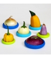 Conjunto de 6 Food Huggers Pequenos - Small Hubs