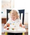 Conjunto de 3 Babetes de Alimentação Absorventes Estrelas - Tiny Twinkle