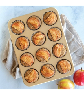 Forma para 12 Muffins Antiaderente - Nordic Ware