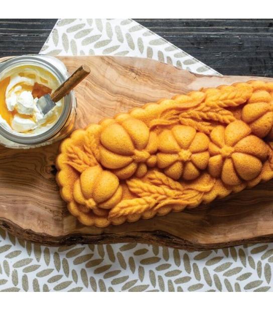 Forma para Pães e Bolos Wheat and Pumpkin - Nordic Ware