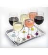 Conjunto de Marcadores de Bebidas (x6) Daisy - Charles Viancin