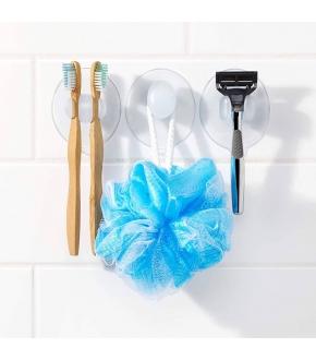 Conjunto de 3 Suportes de Casa de Banho com Ventosas - Oxo