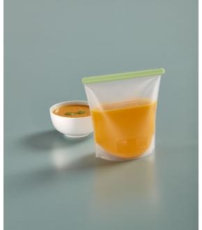 Bolsa de Silicone Reutilizável 1500 ml - Lékué