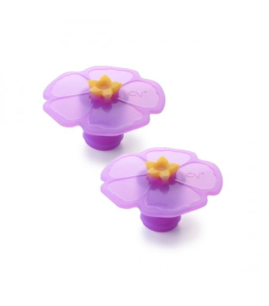 Rolha de Silicone Hibiscus - Charles Viancin